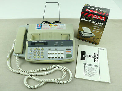 Brother Intellifax 620 Phone - Fax Machine with Extras - Tested - Fast Shipping