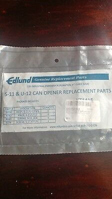 Edlund KT1415 S/S Knife and Gear Replacement Kit for S-11 / U12 Restaurant