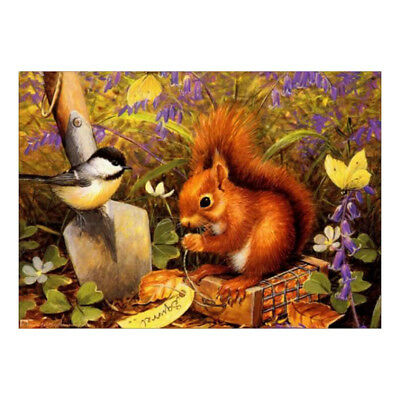 Full Drill DIY 5D Diamond Painting Embroidery Cross Craft Stitch Art Squirrel