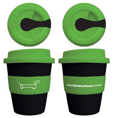 Dachshund Reusable Coffee Cup Sausage Dog Wiener Dog KeepCup Doxie