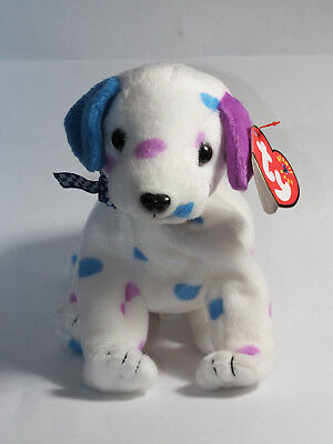 TY Beanie Baby - Dizzy the Dalmation Dog- MWMT