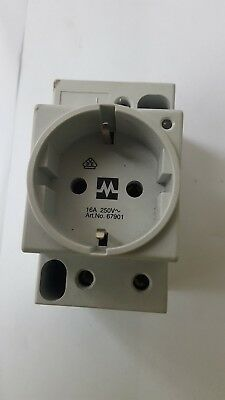 Murrelektronik 67901 16A 250V POWER SOCKET (RS4.4B1)