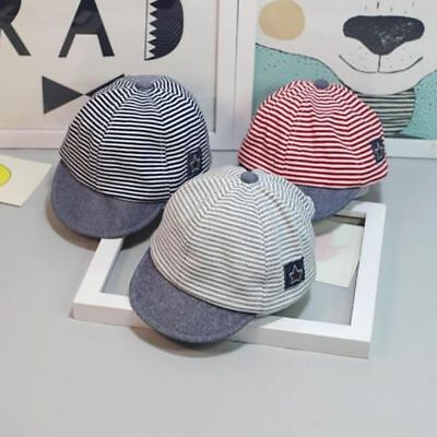 Infant Baby Boy Girl Cute Beret Baseball Sun Cap Snapback Newborn Peaked Hat