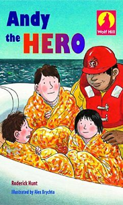 Andy The Hero: More Level 1 (Wolf Hill) by Hunt, Roderick Paperback Book The