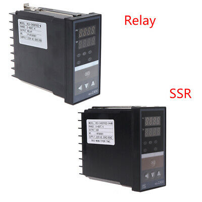 PID Digital Temperature Controller REX-C400 Universal Input Relay SSR Output New