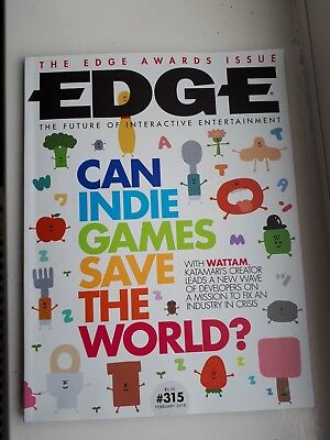 Edge Magazine - Issue 315 February 2018 Can Indie Games Save the World