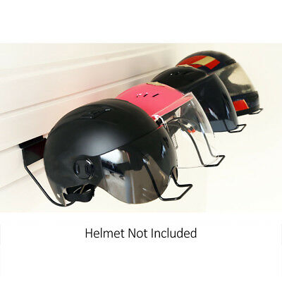 Bicycle Motorcycle Helmet Holder Storage Shelves Wall Hanger Rack Accessories ZB