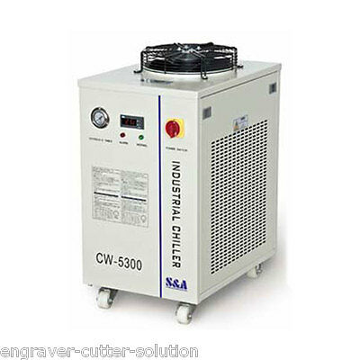 S&A CW-5300AN Industrial Water Chiller AC220V 50HZ for Semiconductor / Spindle
