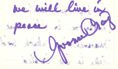 Yvonne Craig - Autograph Quotation Signed