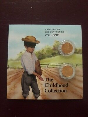 2009 U.S. Mint Unc Lincoln Bicentennial One Cent Collection Free Shipping Vol. 1