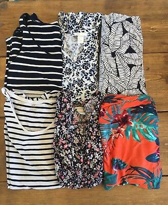 Maternity summer bundle- dresses and tops, H&M size M