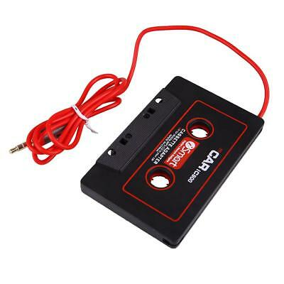 Car Audio Cassette Tape Stereo Adapter For iPod Phone CD AUX 3.5mm Jack