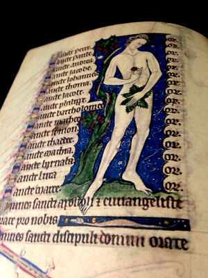 Book of Hours England, 1289, Facsimile