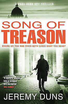Song of Treason by Jeremy Duns, Paperback, New Book