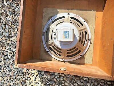2 JENSEN ALNICO 5 PM SPEAKERS 1956 Matched Set P10S C4725 220650 Standard 295704