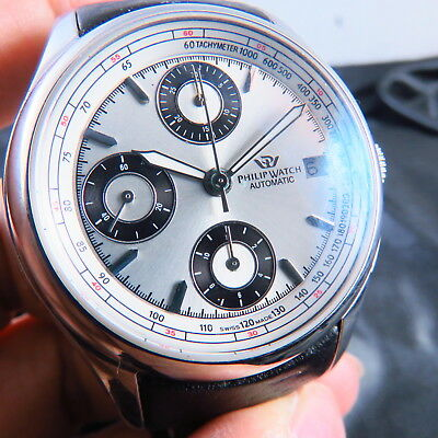 New Old Stock Swiss Made Philip Watch 7750 Chronograph Automatic Men Watch Parts