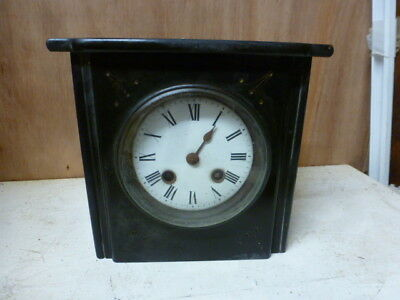 Victorian French mantel clock spares / repair (1)