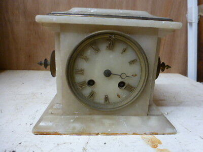 Victorian French mantel clock spares / repair (2)