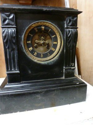 Victorian French mantel clock spares / repair (5)