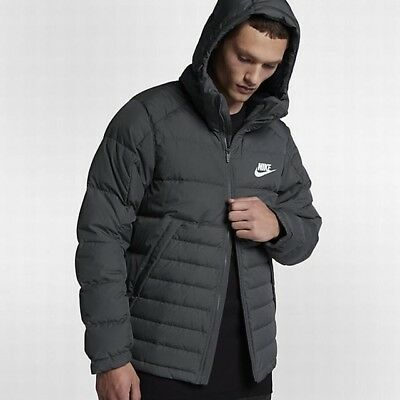 new photos website for discount exclusive deals NIKE AV15 DOWN Hooded Jacket - CHOOSE SIZE - 806855-024 Dark ...