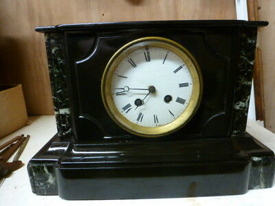 5 Victorian French mantel clock spares / repair (1,2,3,4 & 5)