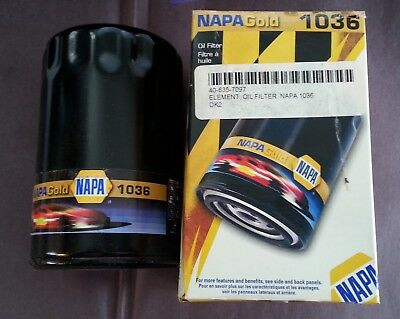 Napa Gold 1036 Oil Filter *new In Box*