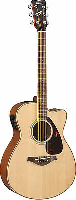 Yamaha FSX720SC FSX Series Acoustic/Electric Guitar Natural FREE STRAP CAPO TUNE