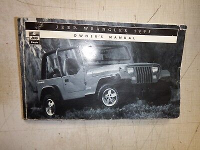 1995 jeep cherokee owners manual 95 xj factory original sport rh picclick co uk 1995 jeep wrangler yj owners manual pdf 1995 jeep wrangler yj owners manual pdf