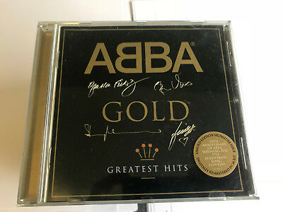ABBA - Gold (Greatest Hits) Limited Edition Signature EMBOSSED EX/EX