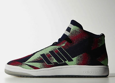 the best attitude 69e59 a92fa Mens New Adidas Originals Shoes Veritas Mid Weave Graphics Athletic Size 11