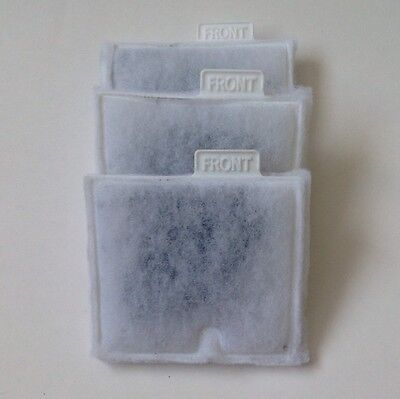 "Aqueon Filter Pad Cartridge Quiet Flow 10 Size"" M"" Medium  3 Pack"