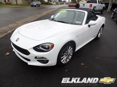 Fiat 124 Spider Lusso Convertible only 1000 miles Leather WOW!! Only1000 Miles & only $374 a month!! Manual Navigation Leather (not Miata)