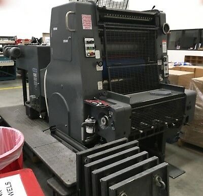 1986 Heidelberg MO 1/C Clean Located In Inplant Printer