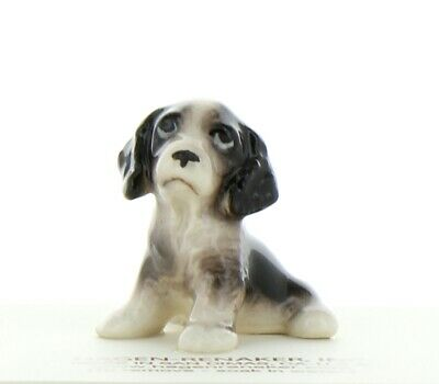 English Springer Spaniel Puppy Miniature Dog Figurine USA made by Hagen-Renaker