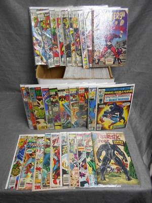 Lot of 70+ Mixed Marvel Vintage Rare Comic Book Cpt America Iron Man  #15