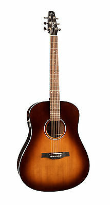Seagull Maritime SWS Burnt Umber GT QIT Acoustic Electric WITH TUNER & CAPO
