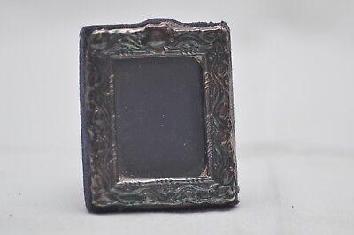 Lovely Vintage Sterling Silver Hallmarked Picture Frame Small +-65mm London 1978