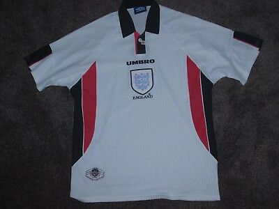 1998 RETRO ENGLAND Home Shirt 3ed05915e