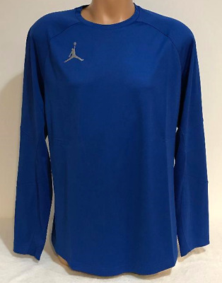 Nike Men/'s sz Small Air Jordan Basketbal Shooting Shirt 427356 101 White//Gray