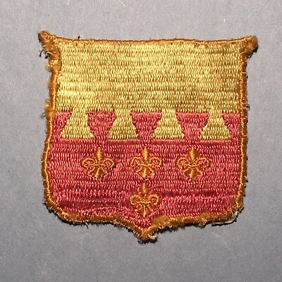 WWII U.S. Army 106th Cavalry Regiment Patch - Woven Variation - Rare