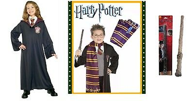Harry Potter Scarf, Wand Accessory or Child Gryffindor Robe Costumes Rubies New