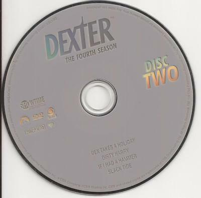 Dexter (DVD) Showtime fourth Season 4 Disc 2 Replacement Disc U.S. Issue!