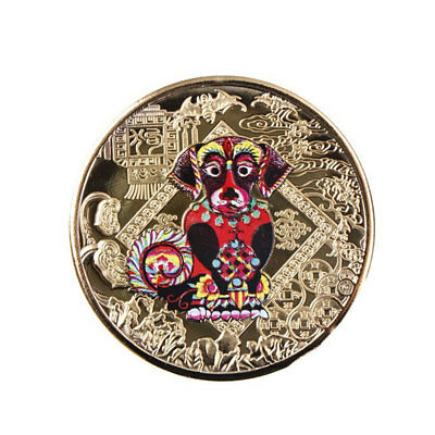 Art Decoration Souvenir Coin Shiny Round Plated Gold Collectible