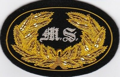 Civil War Slouch Hat Insignia US/CS Medical Service Large w/Free $20 DoubleEagle