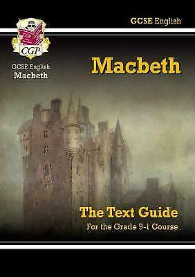 GCSE English Shakespeare Text Guide - Macbeth by CGP Books (Paperback, 2002) by