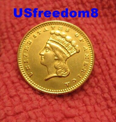 1874 $1.00 Gold Type 3 Rare U.S. Coin Free Shipping