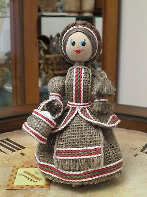 """Souvenir Belarusian Doll """"BELARUSKA"""" Tradition Clothes Handcrafted New Gift"""