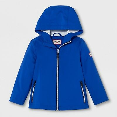 Hunter for Target Toddler Packable Rain Coat Blue Size 3T NWT