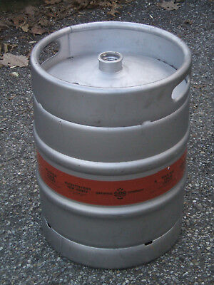 1/2 Barrel Empty Beer Keg - Stainless Steel  Shipping by Zone