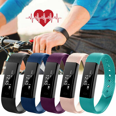 Children Smart Activity Tracker Kids Pedometer Step Counter Fitness Band Watch